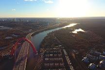 Zhivopisny Bridge (Picturesque bridge), Moscow, Russia