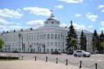 Научная библиотека Тверского государственного университета, Советская площадь на фото Твери