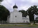 Церковь Георгия со Взвоза, Георгиевская улица, дом 3А на фото Пскова