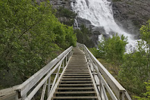 Langfoss Waterfall, Etne Municipality, Norway