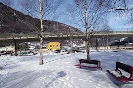 Железнодорожная станция  Otta stasjon