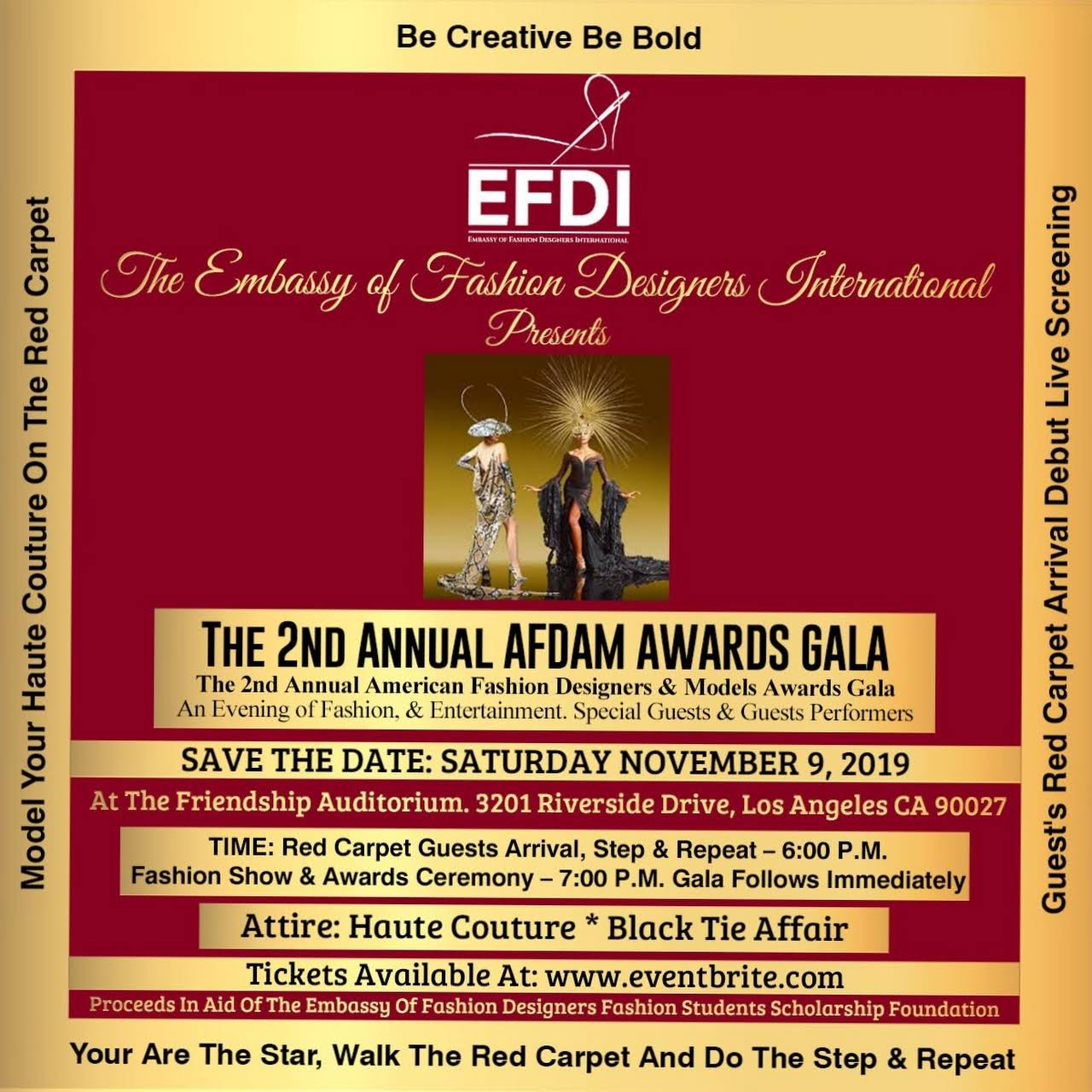 Embassy Of Fashion Designers Internation Efdi Fashion Designer In Beverly Hills