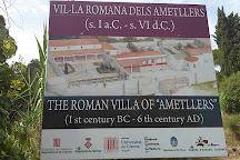 Vil·la romana dels Ametllers, Tossa de Mar, Spain