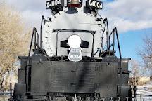 Big Boy Steam Engine, Cheyenne, United States