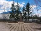 Памятник Михаилу Кузьмичу Янгелю на фото Железногорска-Илимского