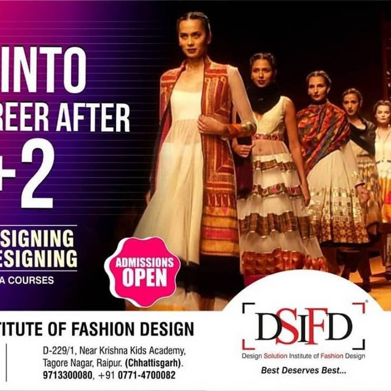 Fashion Designing College Institute Indore Dsifd Indore Fashion Designing College Institute In Indore