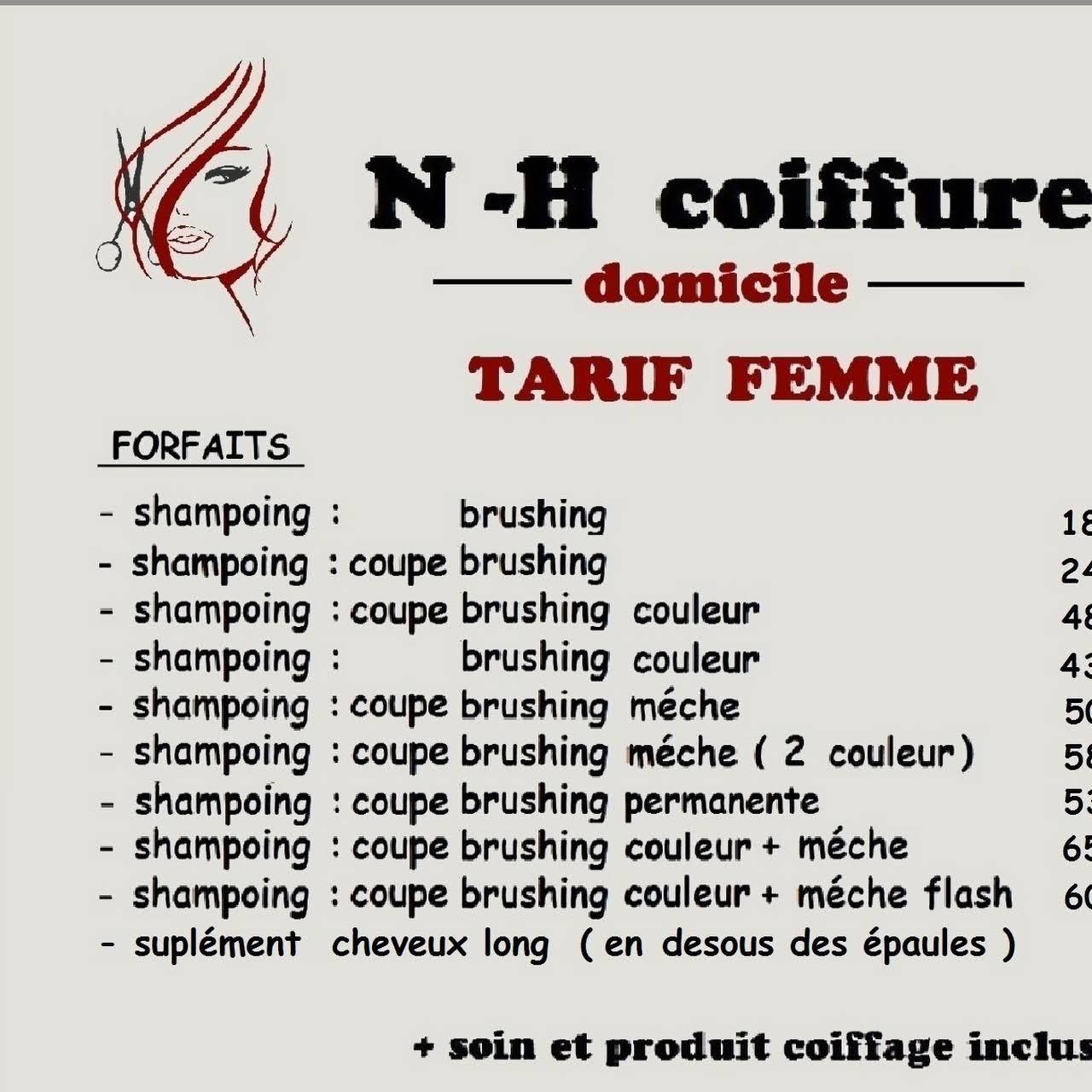 N-H coiffure - Coiffeur À Domicile à lys lez lannoy
