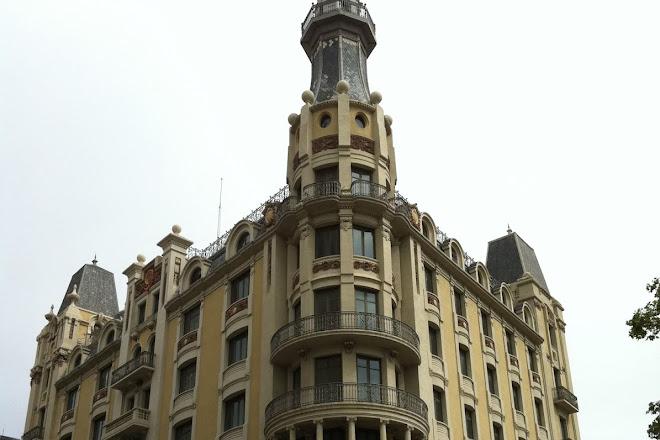 Edifici de Transmediterrania, Barcelona, Spain