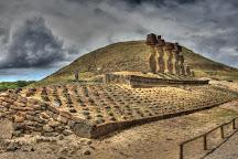 Ahu Nau Nau, Easter Island, Chile