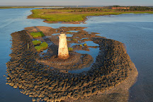 Cockspur lighthouse, Tybee Island, United States