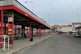 Автобусная станция   Prague   Na Knížec