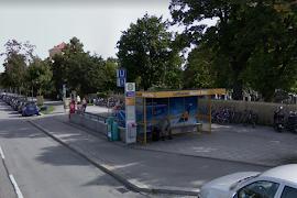 Автобусная станция   Munich Nordfriedhof