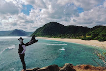 Mawi Beach, Lombok, Indonesia