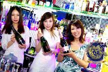 HK Club Q International Party Bar, Chuo, Japan