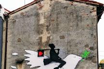 Opere di strada di Kenny Random, Padua, Italy
