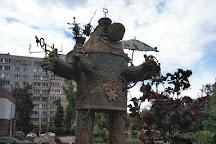Gromozeka Monument, Nizhny Novgorod, Russia