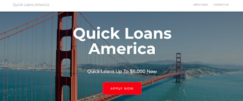 Quick Loans America - Bad Credit Loans, Poor Credit Loans, Good Credit Loans Payday Loans Picture