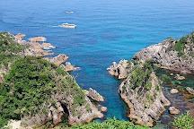 Uradome Coast Oguri beach beaches, Iwami-cho, Japan