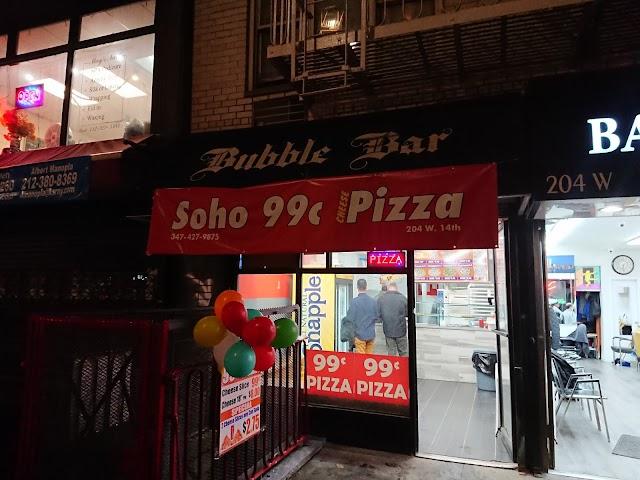 Soho 99c Pizza