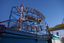 Deno's Wonder Wheel Amusement Park, Brooklyn, United States
