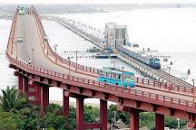 Pamban bridge, Rameswaram, India