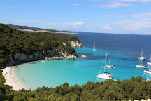 Voutoumi Beach, Paxos, Greece