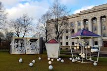 Rose Square (Rozu laukums), Liepaja, Latvia
