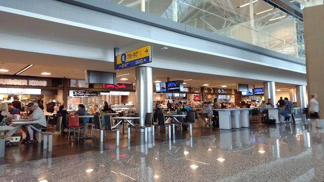 YYC Calgary International Airport Terminal