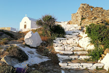 The Zoodohos Pigi monastery, Sikinos, Greece