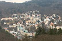 Lanová dráha Diana, Karlovy Vary, Czech Republic