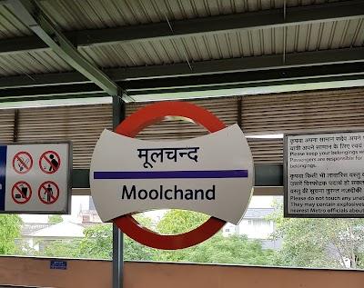 Moolchand Metro Station