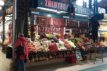 Klauzal Ter Market Hall, Budapest, Hungary