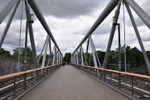 Linnunlaulu Bridge, Helsinki, Finland