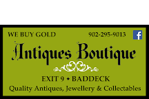 The Antiques Boutique, Baddeck, Canada