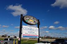 Cedar Valley Cheese, Belgium, United States