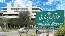 Federal Urdu University of Arts, Sciences & Technology, Islamabad