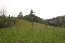 Cascade de la queue de cheval, Saint-Claude, France