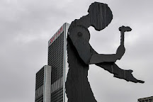 Hammering Man, Frankfurt, Germany