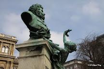 Bust of Gabor Szarvas, Budapest, Hungary