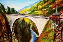 Bridge of Napoleon, Luz-Saint-Sauveur, France