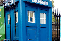 Blue Police Box, Glasgow, United Kingdom
