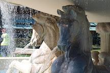Fontana dei Cavalli, Rimini, Italy