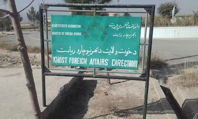 Khost Foreign Affairs Representative Directorate