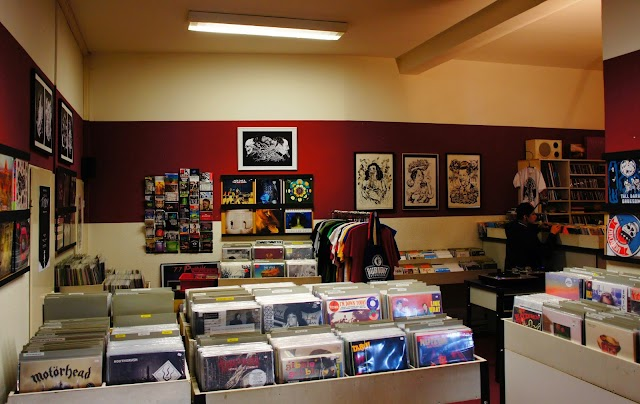 Burnout Record Store