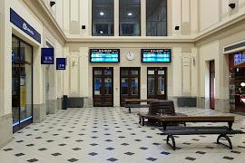 Железнодорожная станция  Marianske Lazne
