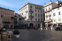 Piazza della Riforma, Lugano, Switzerland