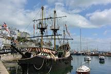Golden Hind Museum Ship, Brixham, United Kingdom