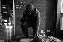 The Kneeling Fireman, New York City, United States