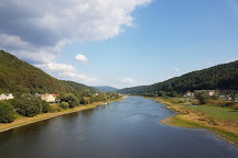 Elbe River, Decin, Czech Republic