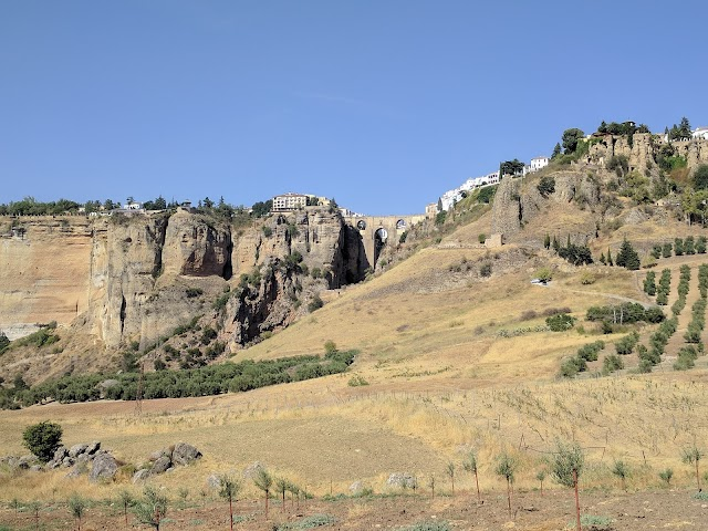 Ronda Tajo From Below